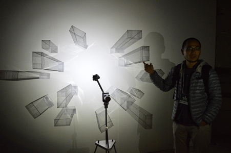 呉季璁さんが作品出展、「六本木アートナイト2015」が盛大に開催