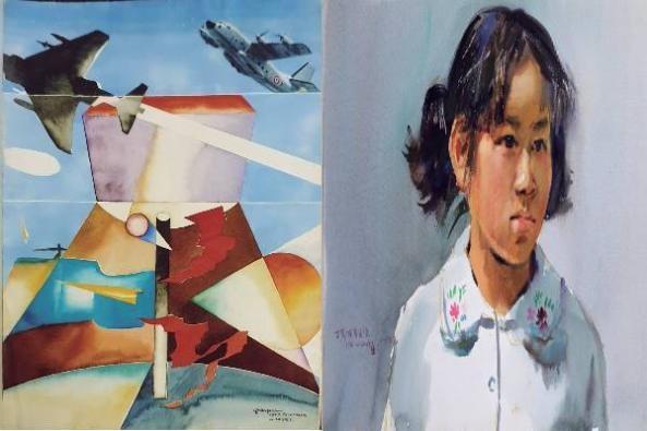 Watercolor Painting & Martial Arts Exhibition
