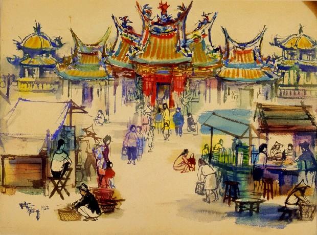 Pintor taiwanés de posguerra | Shiy De-jinn