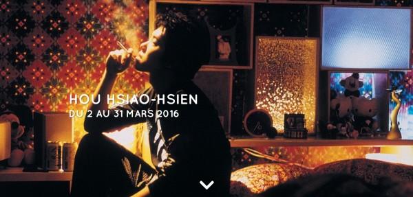Paris   'Retrospective Hou Hsiao-hsien'
