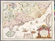 中國福建與廣東省 (65.4x48.5cm)