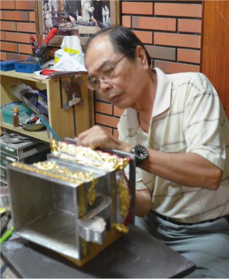 錫工芸の匠、陳万能