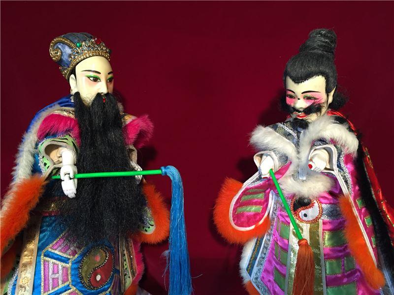 2017看家戲劇展-臺北木偶劇團《白馬風雲前傳-茶山風雲》折子戲試演