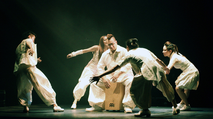 DANCE WORKS (TAIWAN)DEBUT IN NEW YORK KUMBLE THEATER -- DAYDREAMER+ A TAP DANCE FEAST FOR THE SENSES