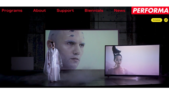 Su Hui-Yu's《The White Waters》on ENCORE: PEFORMA 19 COMMISSIONS Radical Broadcast