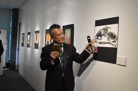 「台湾色彩-曾郁文日本東京展」伝統芸術の枠組みを超えた台湾の色彩