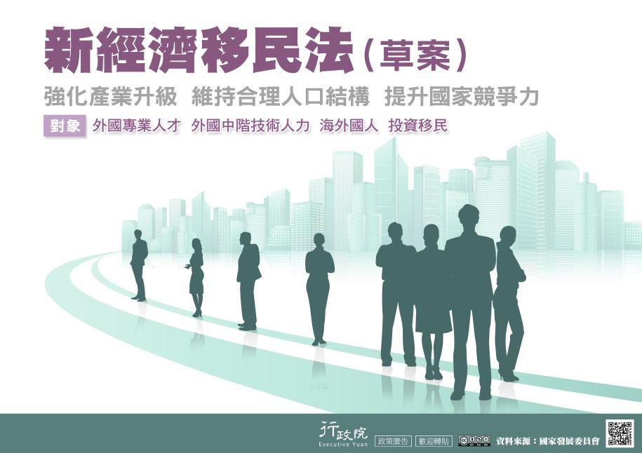 推廣「規劃新經濟移民法(草案)」文宣事
