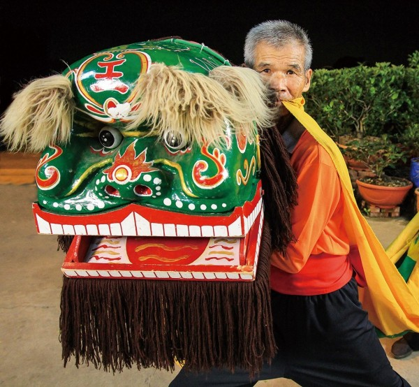 Hakka Lion Dance Performer | Chang Jian-an