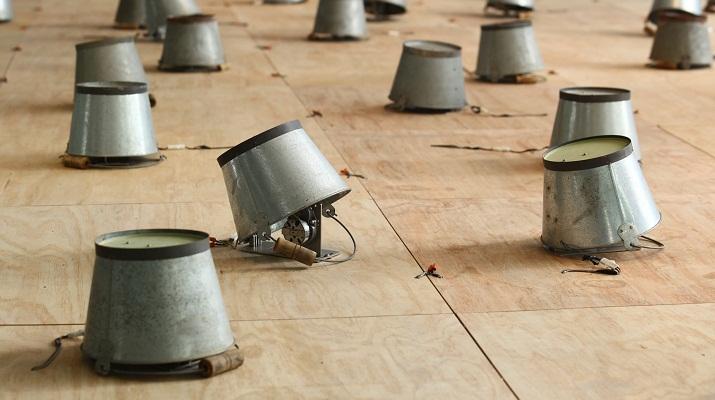 徐瑞憲戶外裝置藝術「一種行為」 紐約布朗士美術館展出