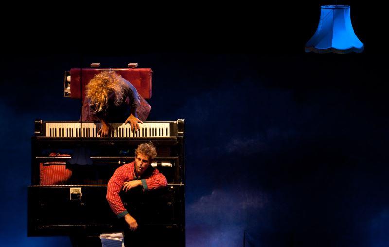 《飛天鋼琴》比利時‧德爾克與費昂馬戲團