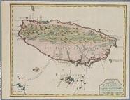 福爾摩沙島與漁翁島圖 (62.1x47.5cm)