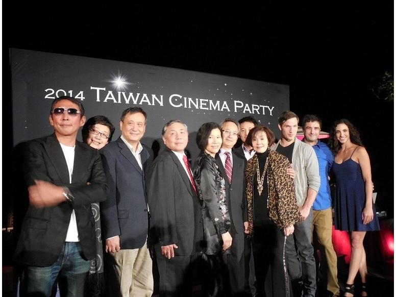Taiwan's audiovisual delegates in US film market