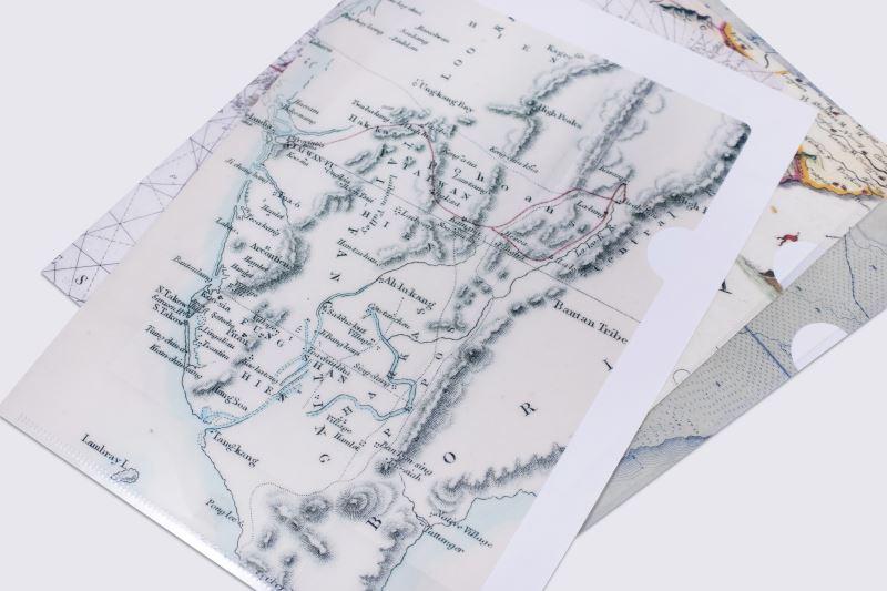 地圖L型夾2(1728年-中華沿岸地區海圖)
