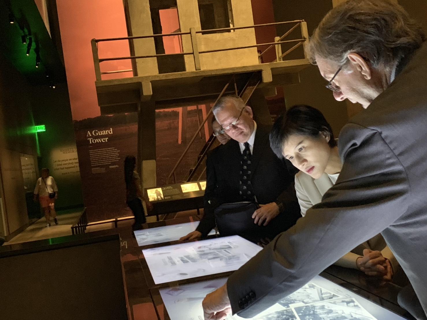 鄭麗君部長參訪華府3人權與平權博物館 交流臺美人權推廣及博物館治理經驗