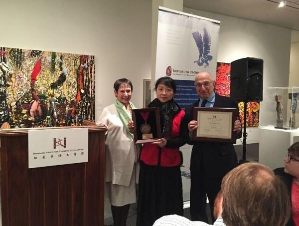 Award-winning Taiwanese writer tours US south