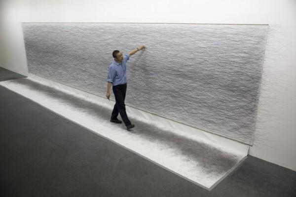 Taiwan artist to complete 100km-walk at Art Basel HK