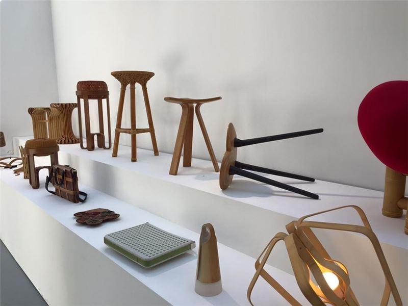 工藝新趣成果作品參與2015 hand in hand法國巴黎大皇宮展出現場