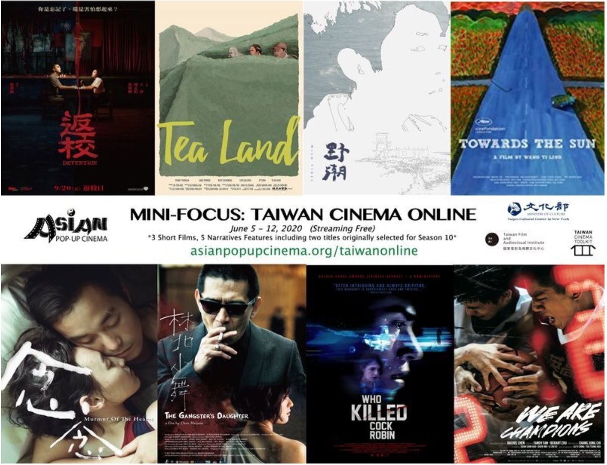Stream Taiwan films, shorts from Asian Pop-Up Cinema for free