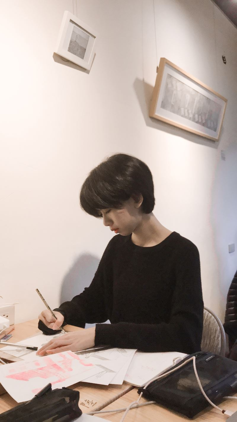 Dibujante de comic taiwanesa seleccionada como artista en residencia en Francia