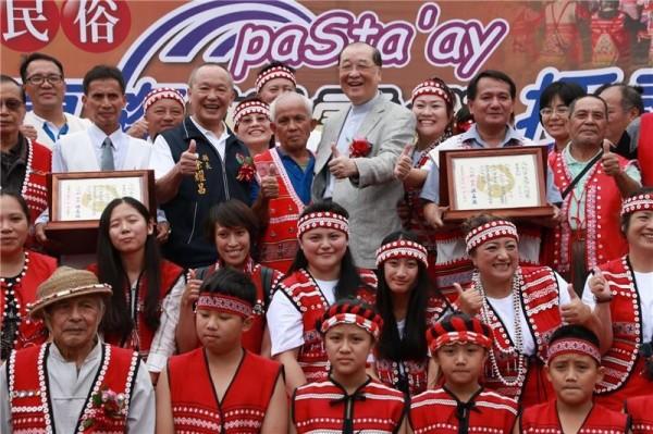 「重要民俗」に指定の先住民「サイシャット族」伝統祭 現地で証書授与