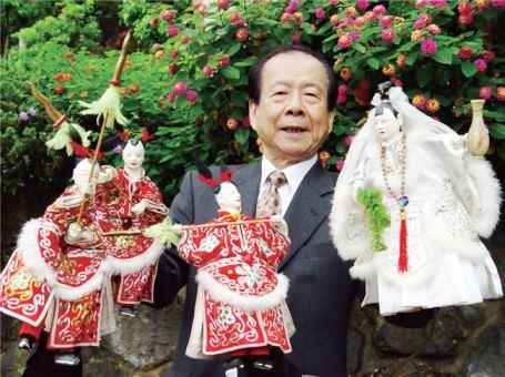 駐日代表処台湾文化センターの移転開設記念、台湾の布袋戯が上演