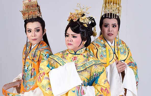 Taipei City Arts Promotion Office Dadaocheng Youth Taiwanese Opera Troupe A Great Bird Troubles the Imperial Palace