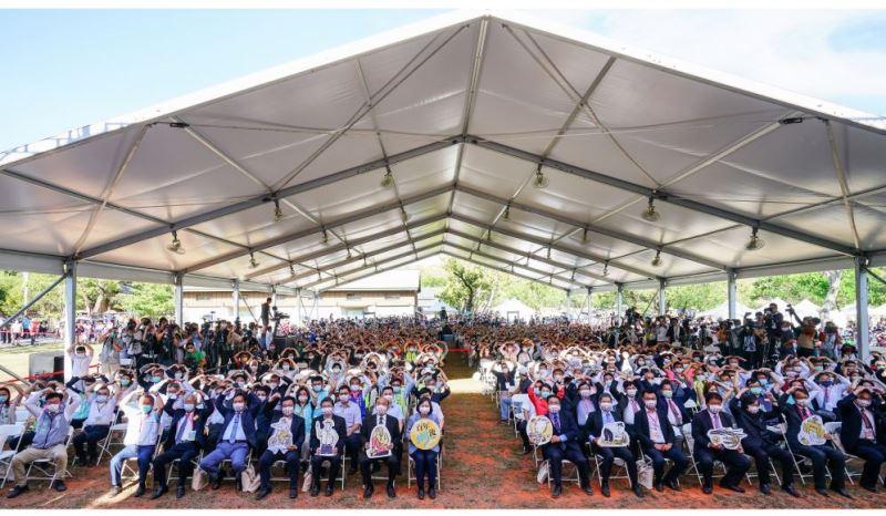 嘉南大圳着工100周年記念式典、台日の友情築く 蔡総統が出席