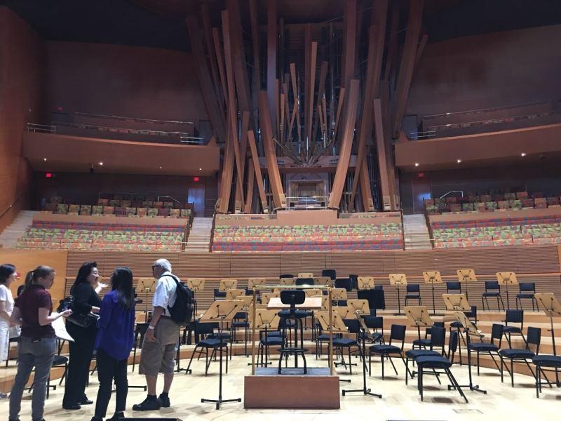 國立臺灣交響樂團應邀赴洛杉磯迪士尼音樂廳演出