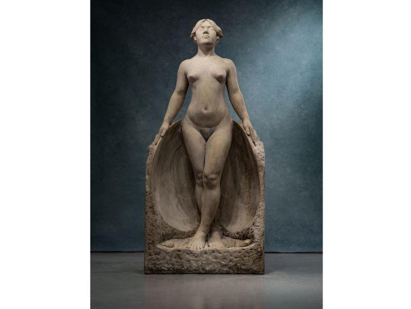 彫刻家・黄土水の「甘露水」が公開へ、年末開幕の特別展で
