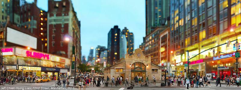 NY cityscape immortalized by Taiwanese lens