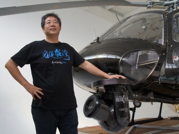 「天空からの招待状」監督、ヘリ墜落死 第2弾の撮影中