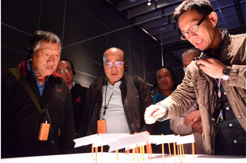 「地圖很有事─地圖的臺灣史特展」之策展人導覽