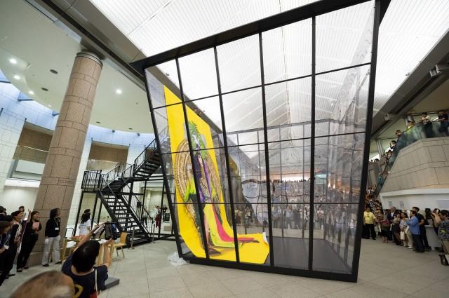 横浜で開催の現代アート国際展に台湾の沈昭良氏が出展
