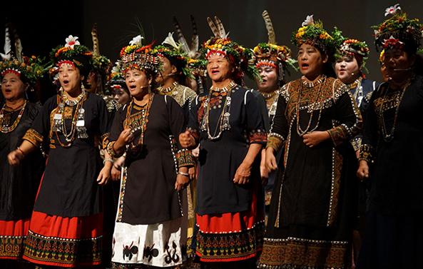 《安坡部落永恆之聲》2017世代之聲──臺灣族群音樂紀實系列 臺灣戲曲中心開幕系列