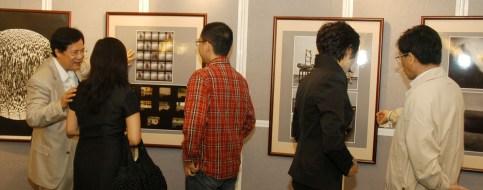 「當代華人攝影家交流展」開幕式