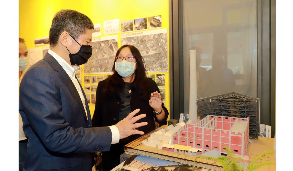 文化部長李永得訪視新竹「再造歷史現場」 關心地方文化資產修復再利用