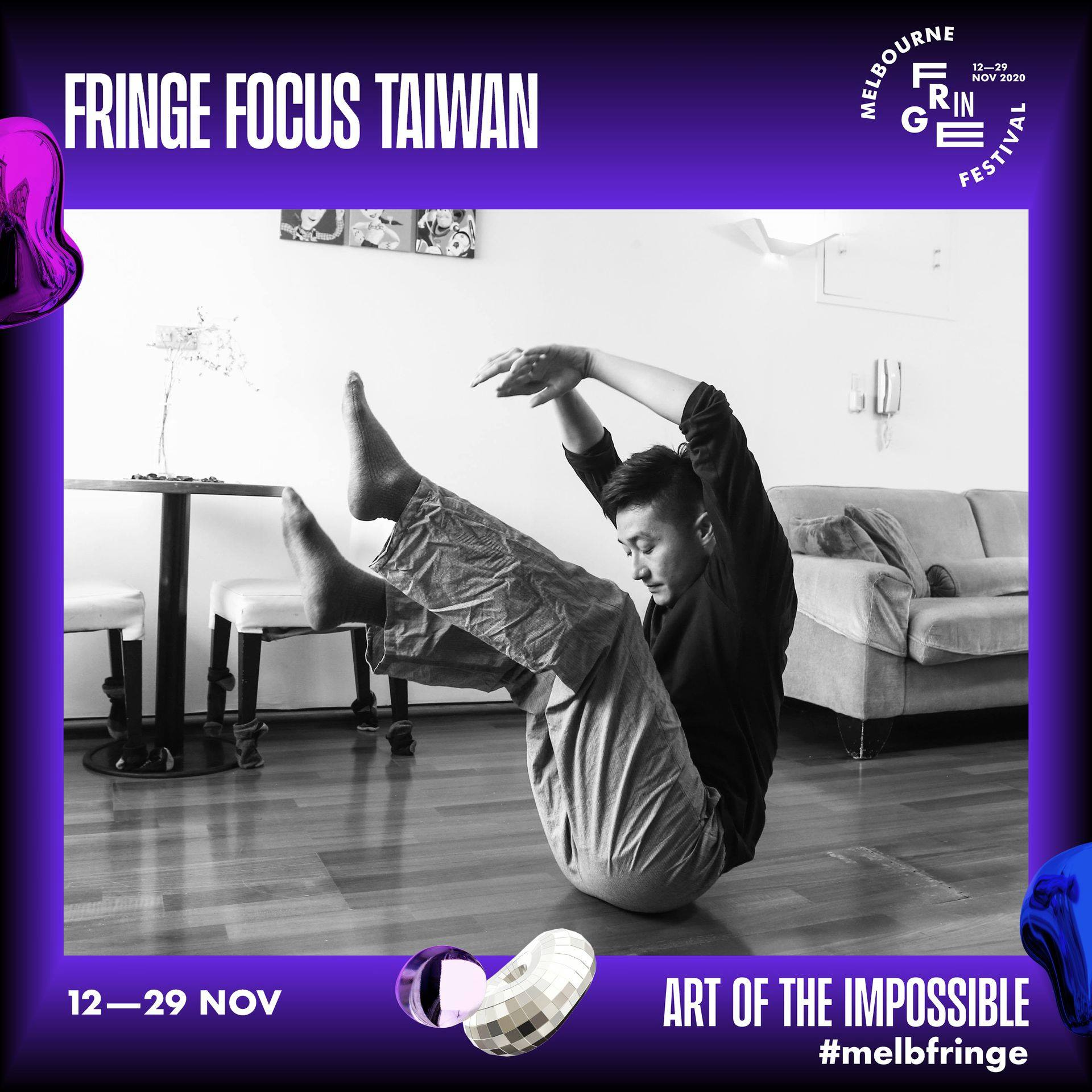 Emerging and contemporary Taiwanese art showcased at Melbourne Fringe