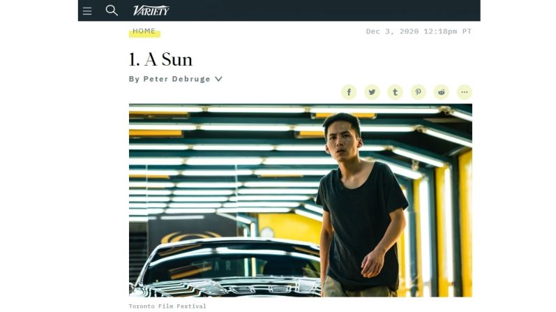 "Taiwanese Auteur Chung Mong-hong's Masterpiece ""A SUN"" Finally Lands on American Film Critics' Radar"