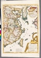 中國東部圖 (48.7x72.3cm)