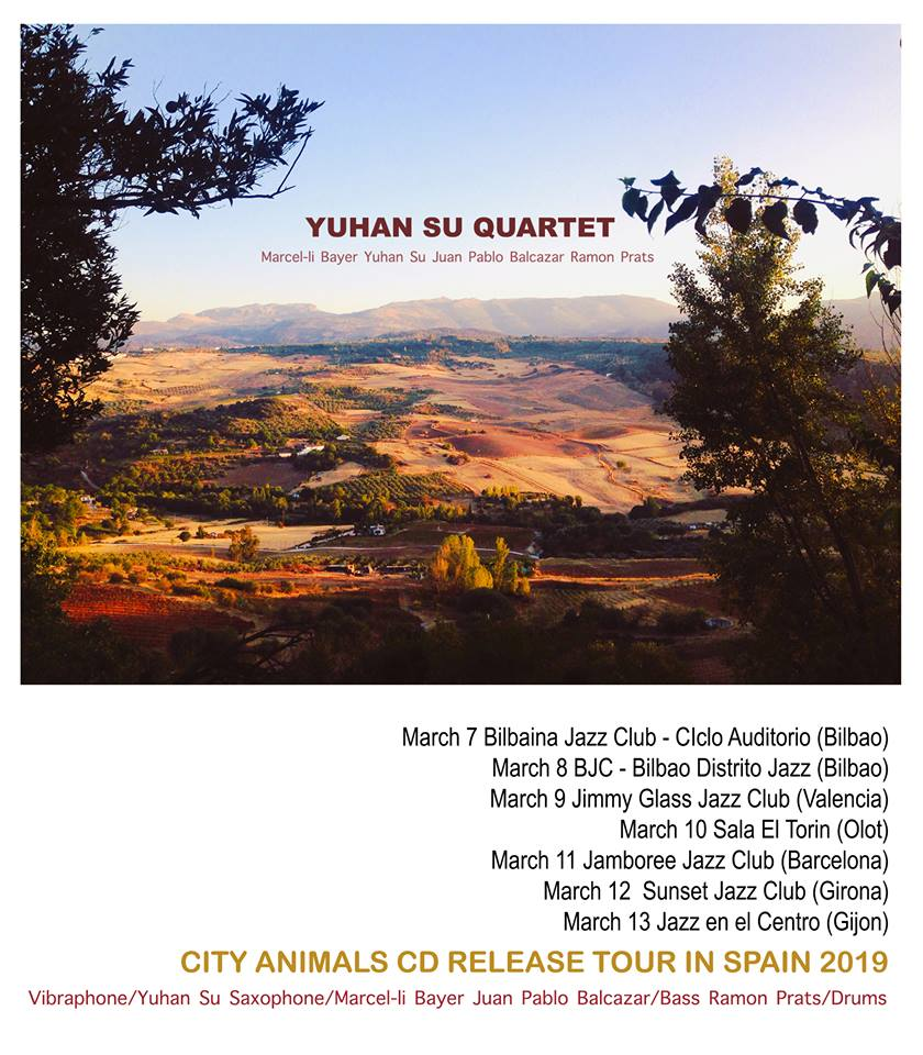 Yuhan Su Quartet to embark on seven-concert tour of Spain