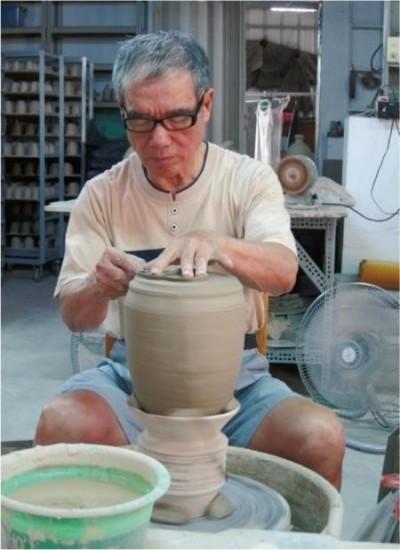 陶芸の先駆者、蔡栄祐