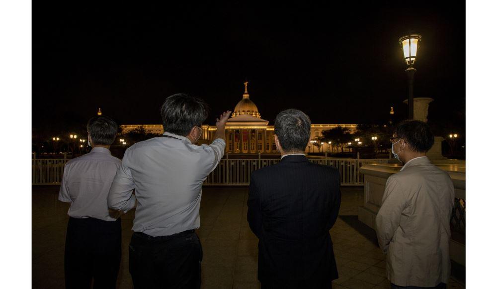 文化部長李永得訪視臺南奇美和十鼓文創 感謝民間機構以強韌的生命力豐富臺灣藝文環境
