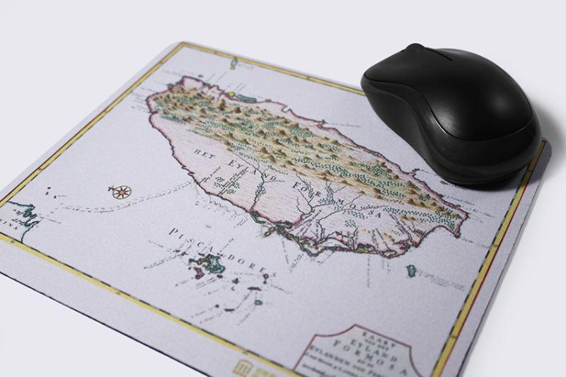 地圖滑鼠墊1-1724年