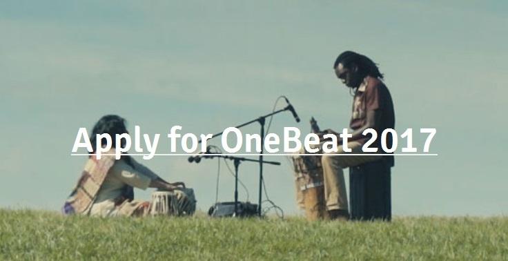 OneBeat國際青年音樂家交流計畫,自即日起至2月10日止截止收件