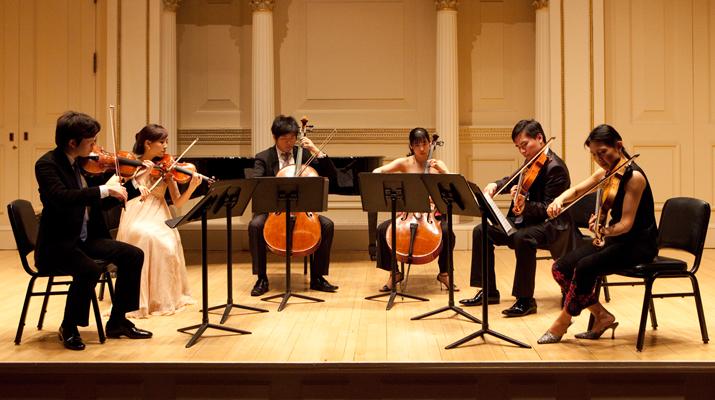 「新亞室內樂協會」紐約卡內基音樂廳創團首演