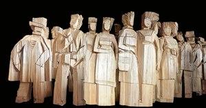 國際知名雕刻大師朱銘 <<人間系列--市民>>展覽