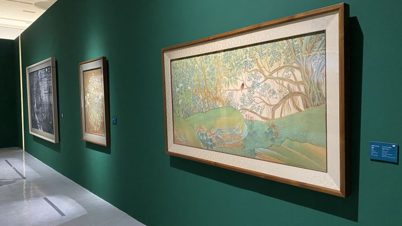 'Revisiting the Classics' exhibition at NTMoFA showcases works of Kuo Hsueh-hu and Lin A-Chin