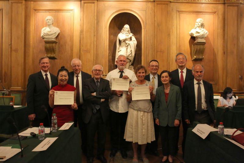 El viceministro de Cultura entrega el 23º Premio Cultural de Taiwán-Francia
