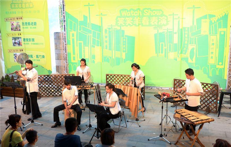 民間傳統藝術展演推廣計畫─台灣竹樂團