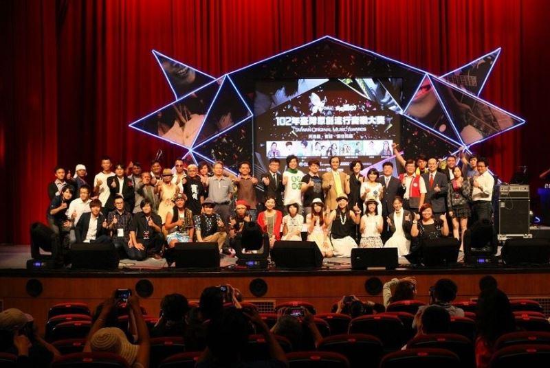 2013 Taiwan Original Music Awards a success